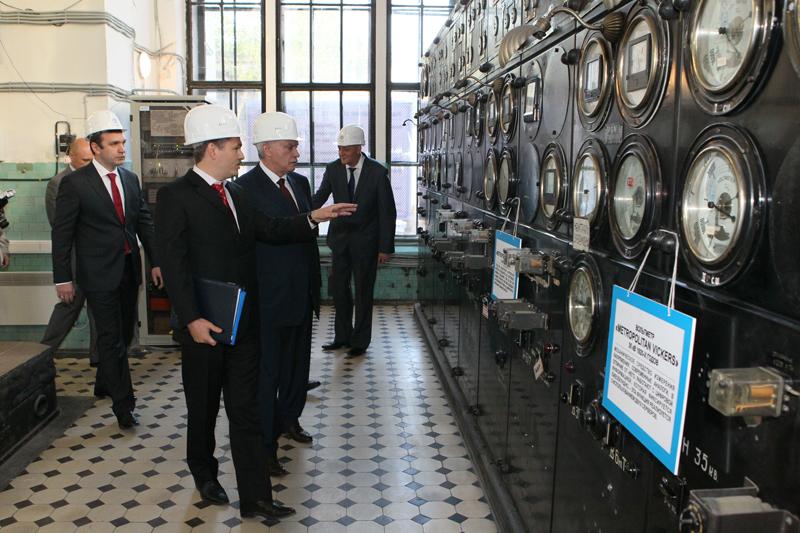 Открытие первой трансформаторной модульной подстанции в Петроградском районе, 2014 год