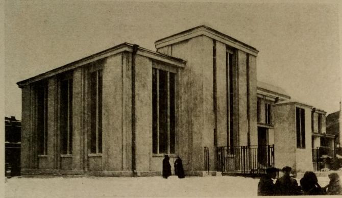 Здание понижающей подстанции Волховской ГЭС, 1927 год