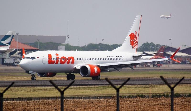 Lion Air Boeing 737 MAX 8 (рег. PK-LQP) //PK-REN/СС/Wikipedia
