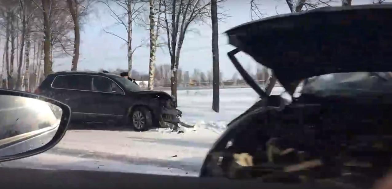 Кадр из видео очевидца в vk.com/spb_today