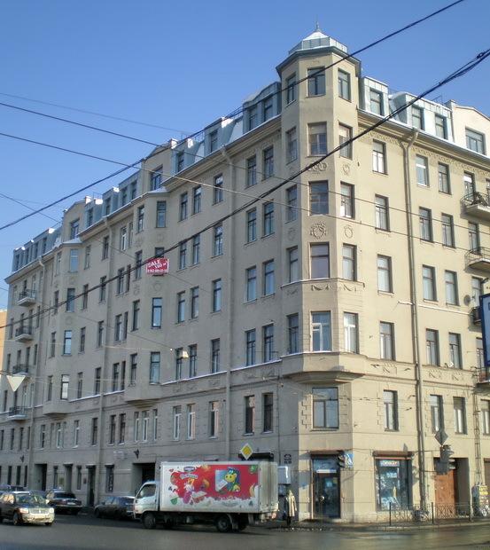 Было//Доходный дом А. И. Ванюковой на Citywalls.ru