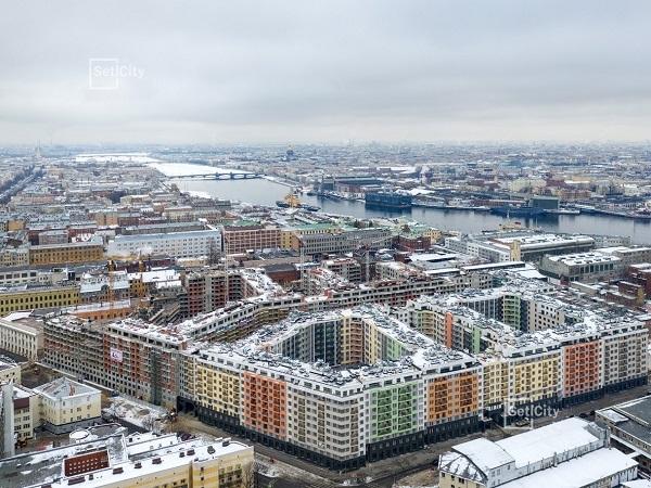 Setl Group – лидер по продажам в Санкт-Петербурге