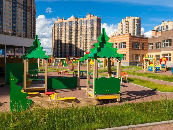 Шестой детский сад в ЖК «Северная долина» готов на 80%