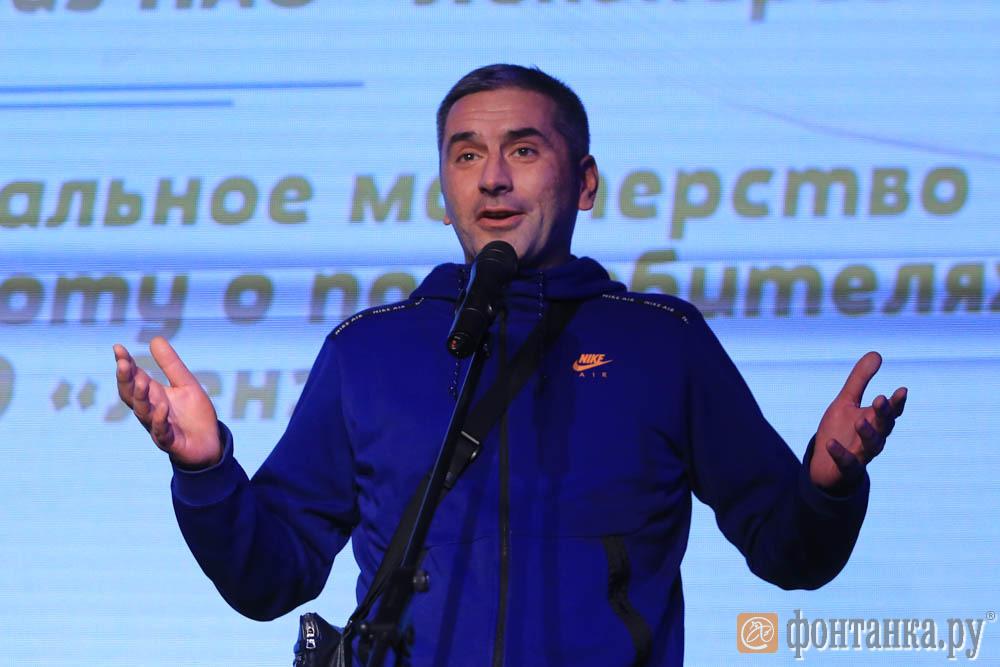корреспондент 47News Виктор Смирнов