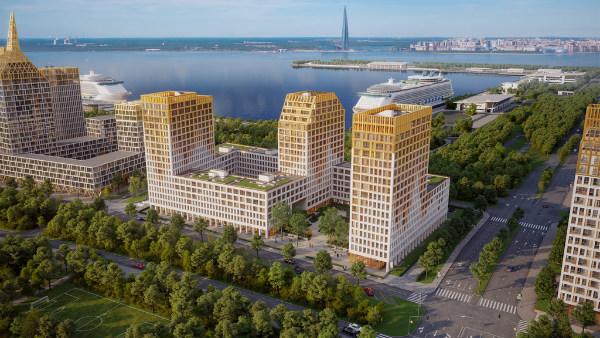 ЖК Golden City/Glorax Development