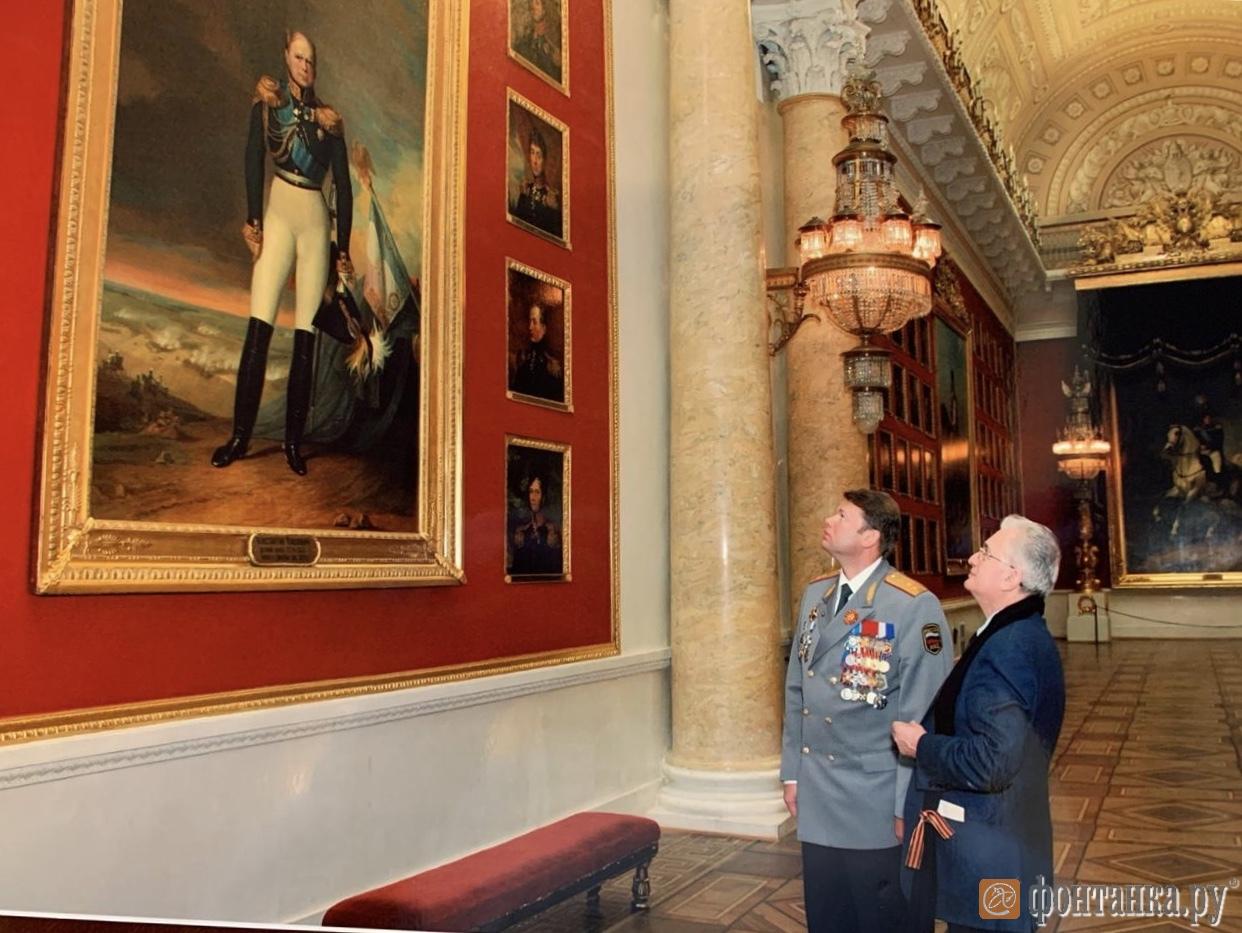 Пиотровские в галерее героев 1812 года