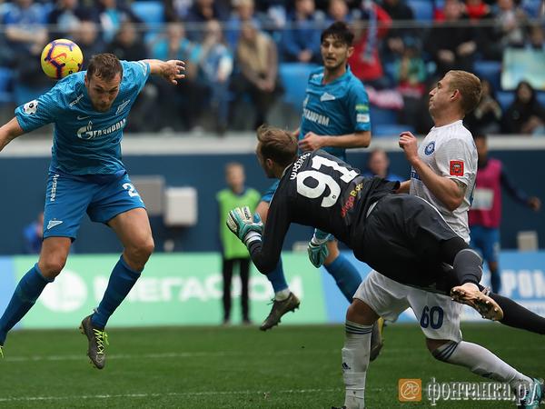 Два гола Азмуна и гол Ракицкого принесли «Зениту» победу в матче с «Оренбургом»