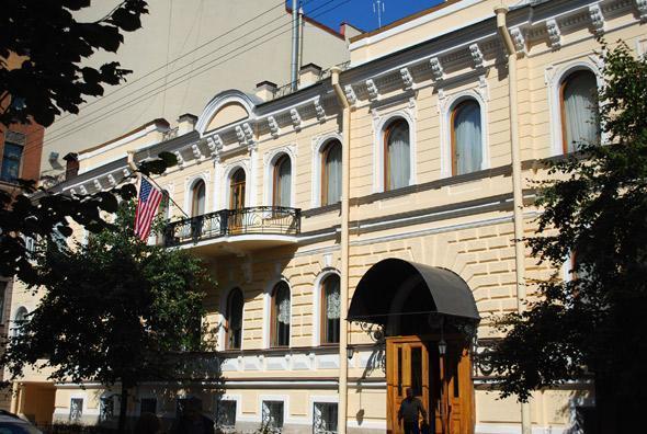 Здание экс-резиденции в Гродненском переулке