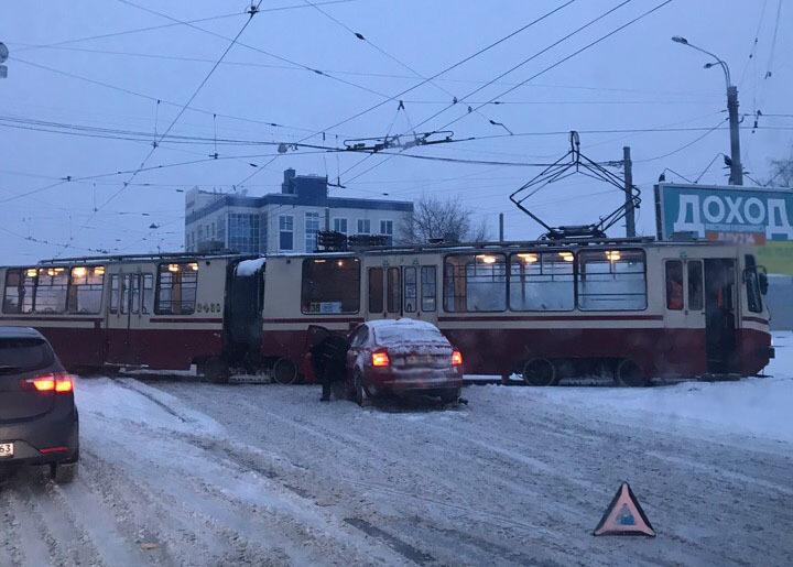 Авария возле Кушелевки/ДТП и ЧП/vk.com