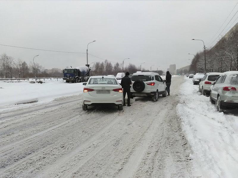 Авария на Леначарского/ДТП и ЧП/vk.com