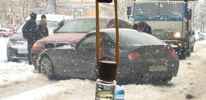 ДТП на улице Покрышева