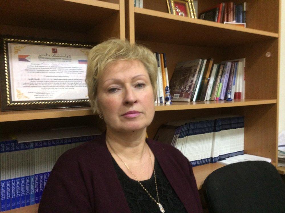 Вера Ачкасова/ фото: Высшая школа журналистики и массовых коммуникаций СПбГУ