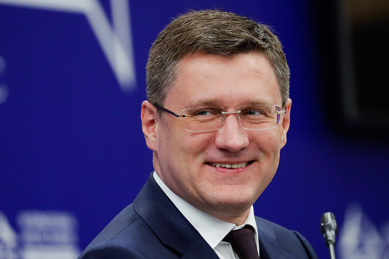 Александр Новак, министр энергетики