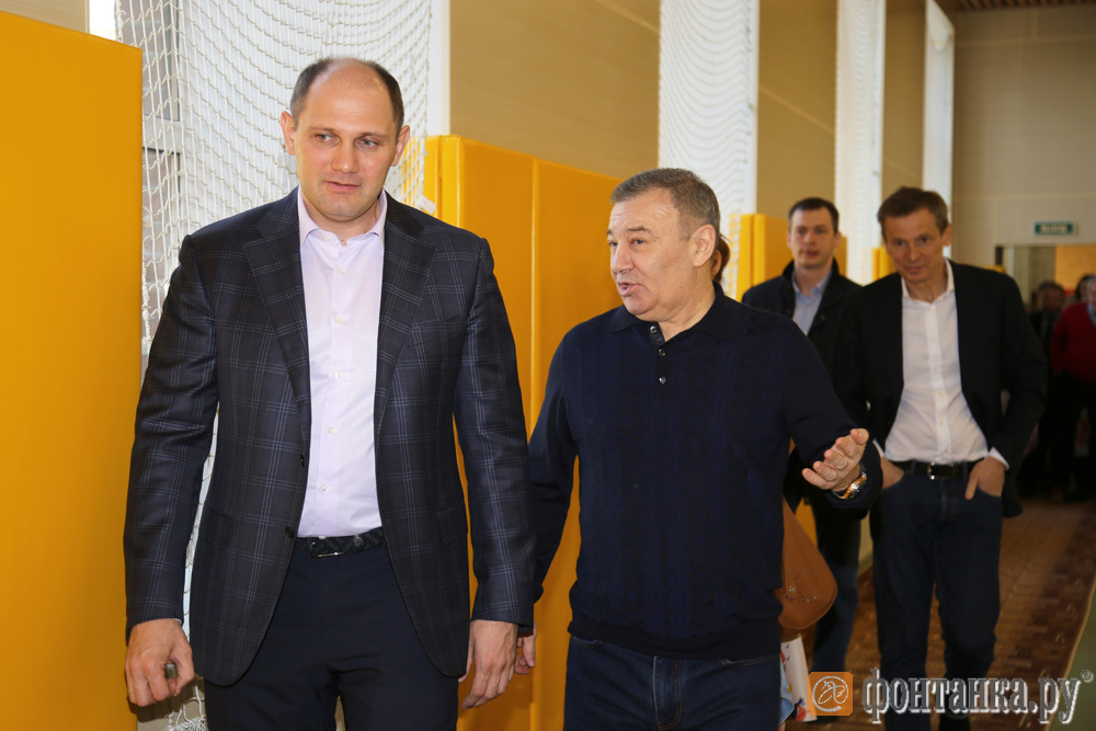 Михаил Рахлин и Аркадий Ротенберг