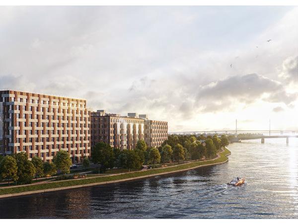 «Группа ЛСР» выводит в продажу новый элитный дом на Петровском острове