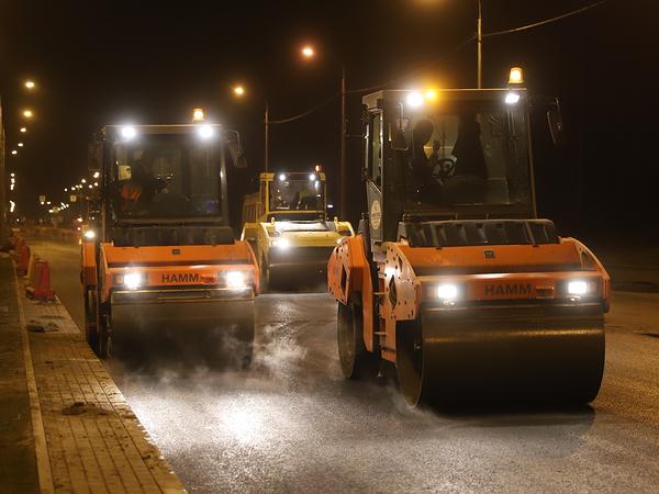 Финляндскую улицу в Колпино закатали в асфальт