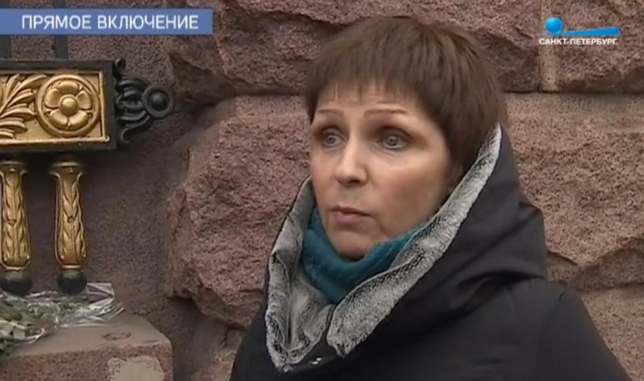 "Ирина Антонова//кадр из видео телеканала ""Санкт-Петербург"""