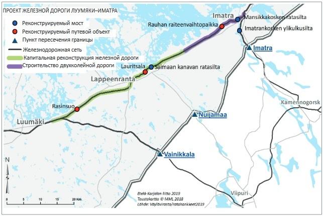 Светогорск как новый транспортный хаб. Финны хотят электричку Петербург - Иматра к 2025 году (Иллюстрация 1 из 2) (Фото: Региональный Союз Южной Карелии)