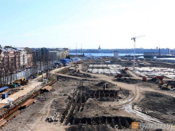 Фото дня: как с высоты выглядит мегастройка судебного квартала в Петербурге