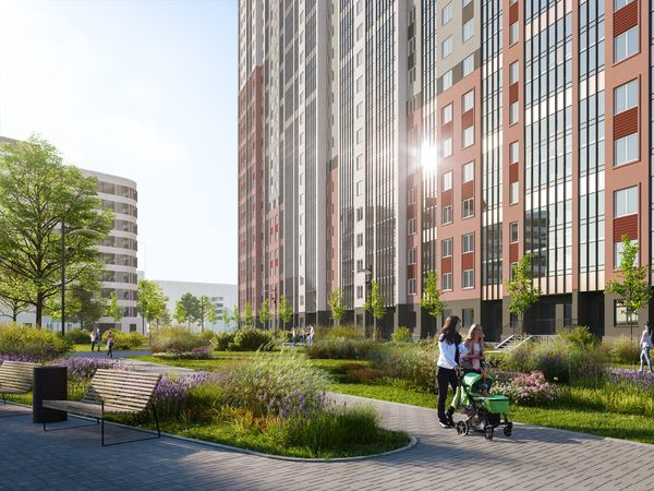 Квартал 26 «Цветного города»: новые квартиры в продаже