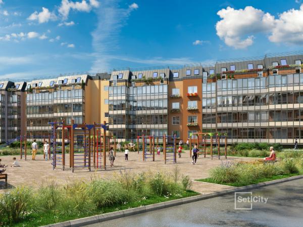 «Петербургская Недвижимость» открыла продажи второй очереди ЖК «Зеленый квартал» в Московском районе