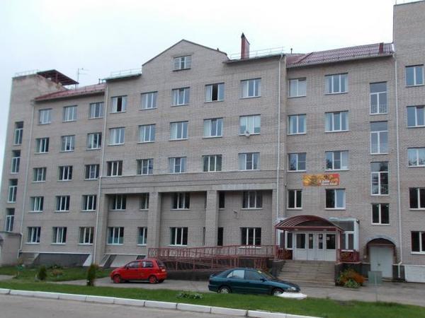 Больничный комплекс в Окуловке//Официальный сайт Администрации Окуловки