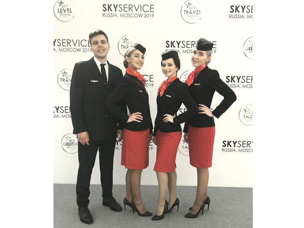 Бортпроводники «Уральских авиалиний» стали золотыми призерами SKYSERVICE 2019