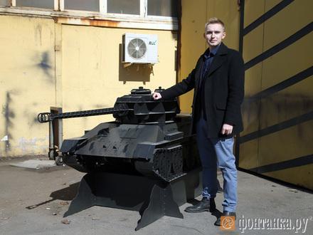 Шашлыки в танке Победы. В Петербурге предлагают мангалы в виде Т-34 или атомной подлодки
