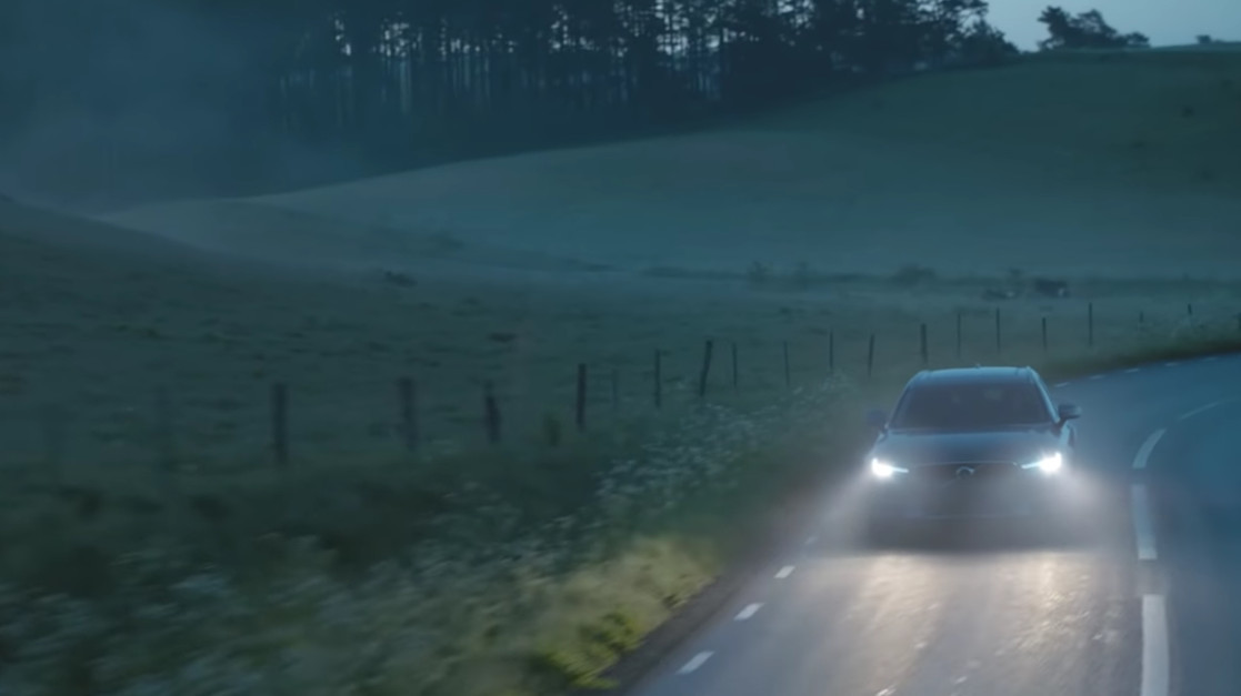 Кадр из видео Volvo в YouTube