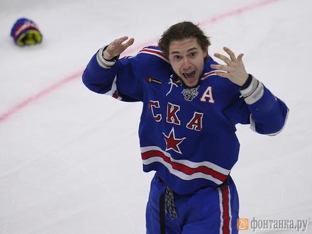 СКА и ЦСКА доигрались до седьмого матча. Дрались даже партнеры по сборной России