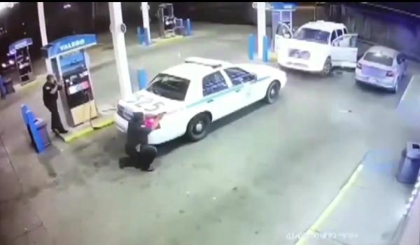 Полицейские города Джексон. Кадр из видео в YouTube