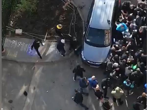 Кулачный бой фанатов на Савушкина расценили как мелкое хулиганство. В полиции четверо