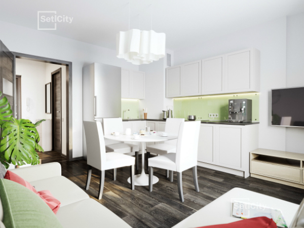 «Петербургская Недвижимость» предлагает квартиры от 2,45 млн руб. в ЖК «GreenЛандия»