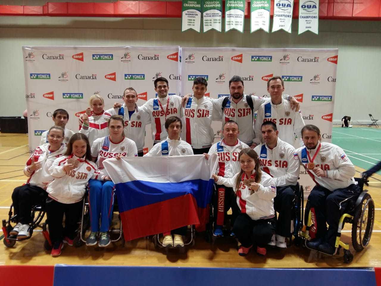 Петербургские паралимпийцы завоевали медали на турнире в Канаде (Иллюстрация 1 из 1) (Фото: paralymp.ru)
