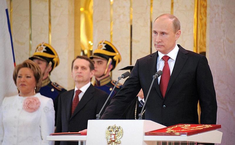 Инаугурация Владимира Путина, 2012 год
