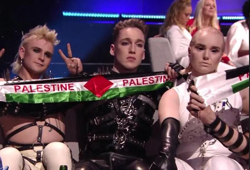 кадр из трансляции Евровидения-2019