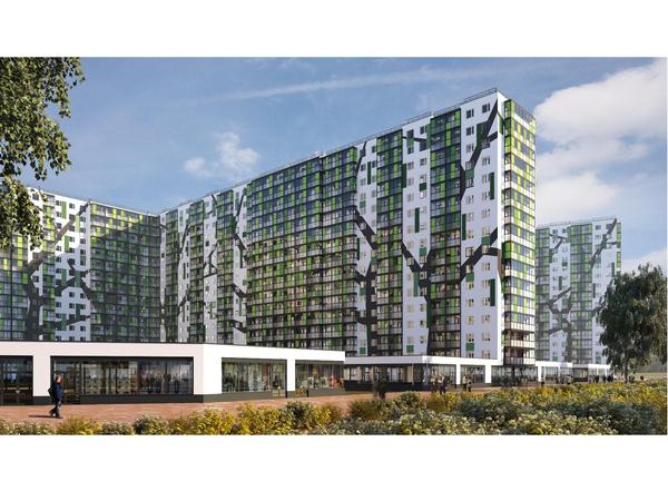 В продаже последняя видовая секция в ЖК «ПаркЛэнд»: квартиры от 2,17 млн руб.