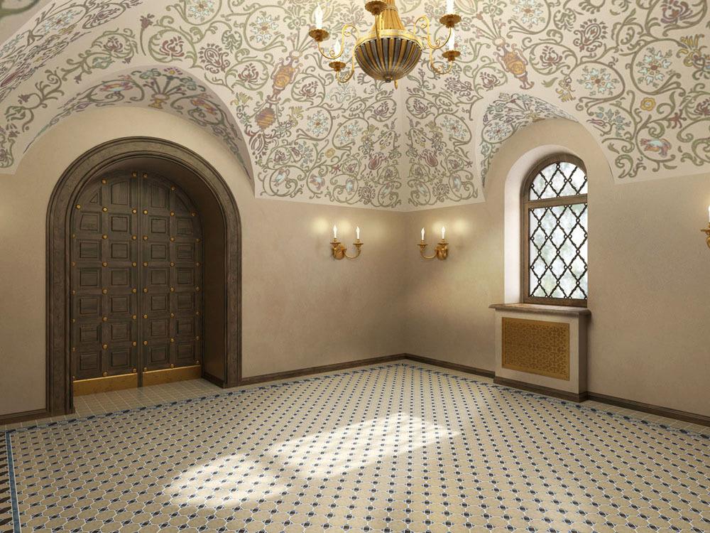 Трапезная палата. Сервировочная.