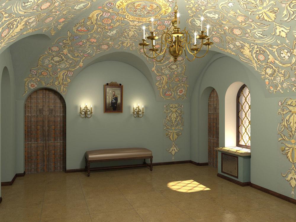 Трапезная палата. Холл малой трапезной.