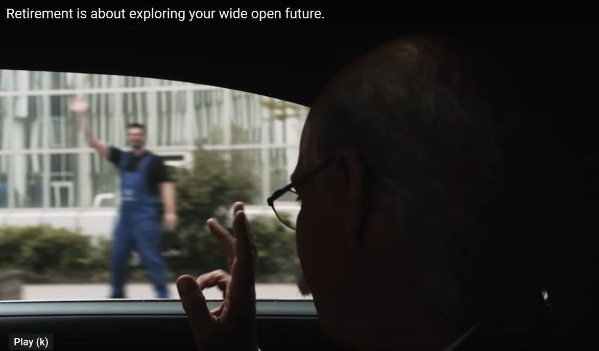 Кадр из видео BMW в YouTube