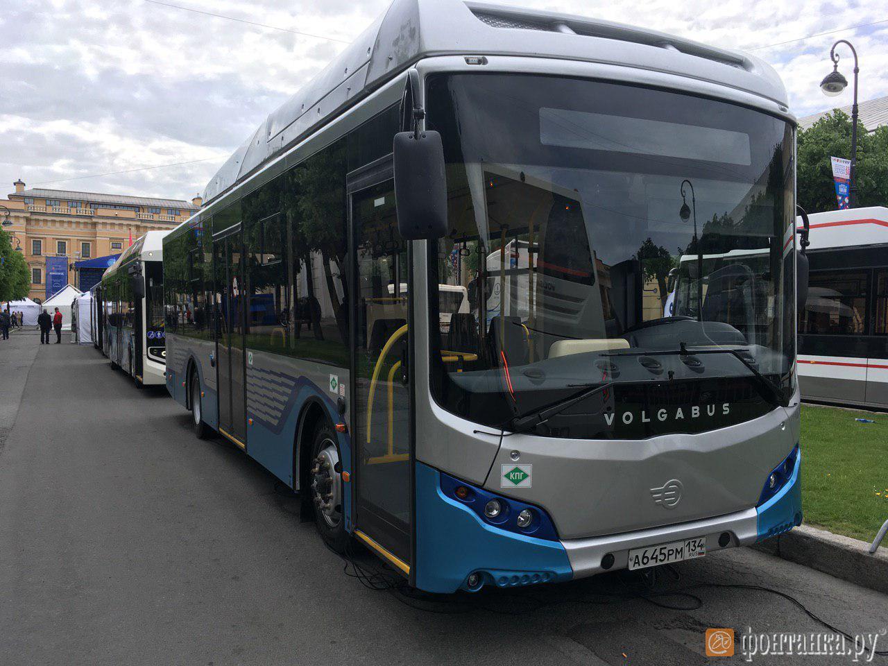 """Автобус """"VolgaBus"""", модель СитиРитм-10"""