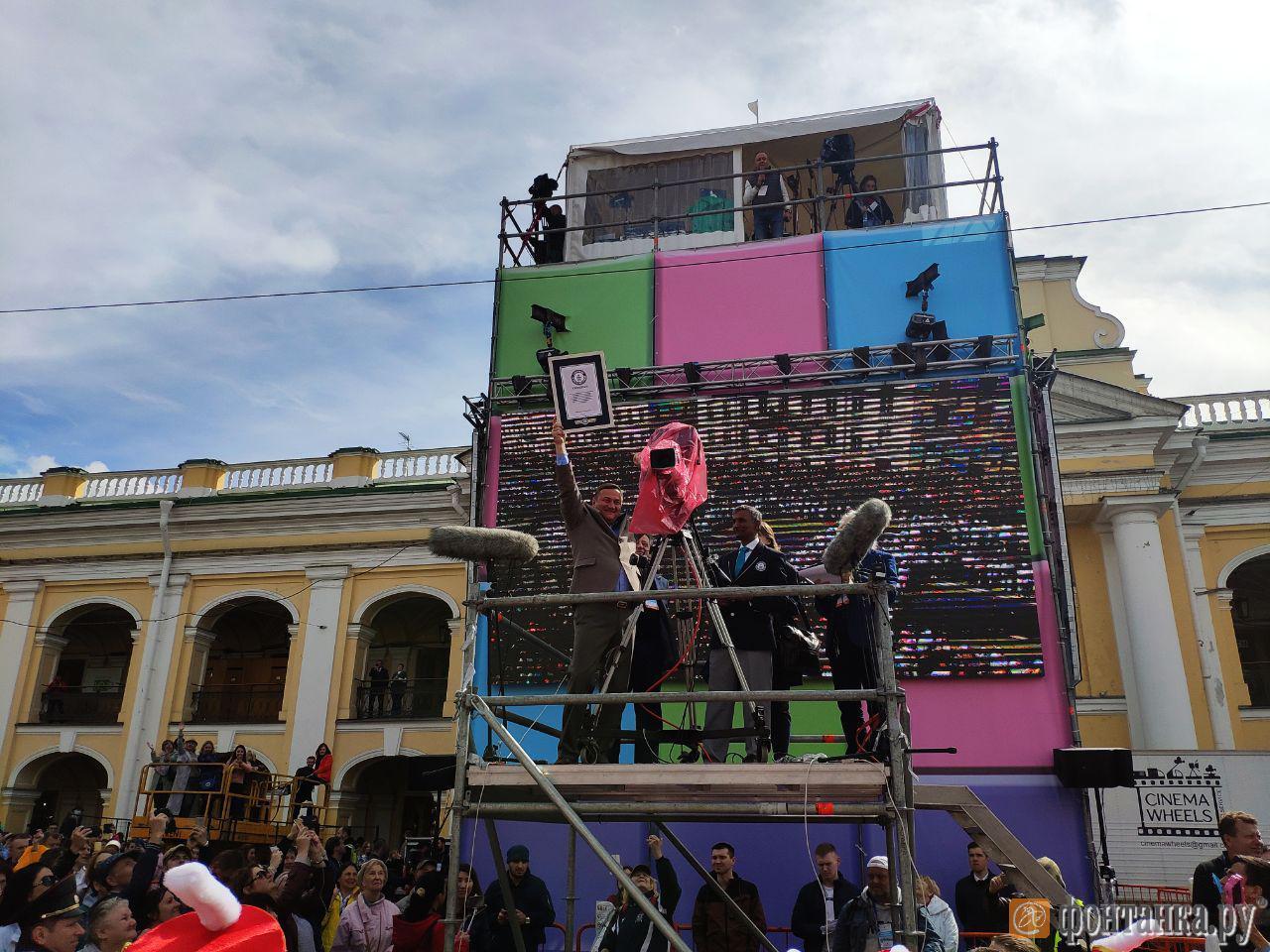 Есть рекорд! В Петербурге сыграли самое массовое крещендо на барабанах в мире (Иллюстрация 1 из 2) (Фото: Артем Кузьмин/