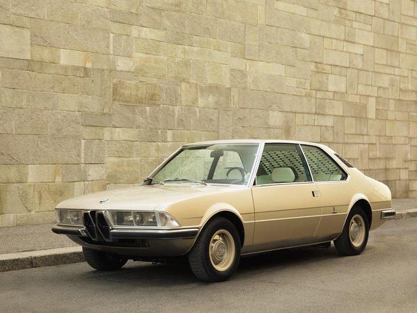 Утерянный концепт BMW 1970 года восстановили по рисункам и фотографиям
