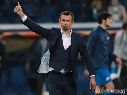 Сергей Семак: «Что касается разговора про чемпионов по игре, то мы все показали в Краснодаре»