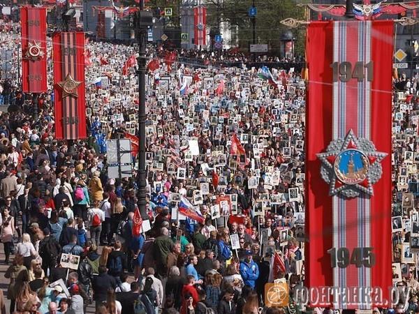 Больше чем миллион: как «Бессмертный полк» шел по Петербургу