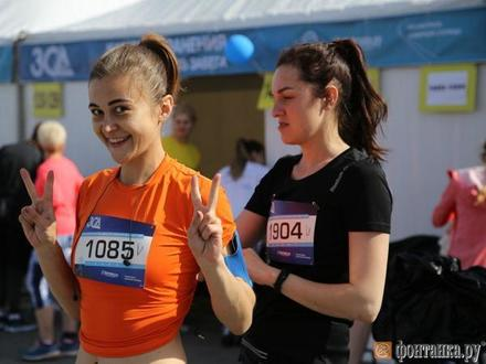 Почти 1300 легкоатлетов стартовали в забеге на ЗСД Фесте