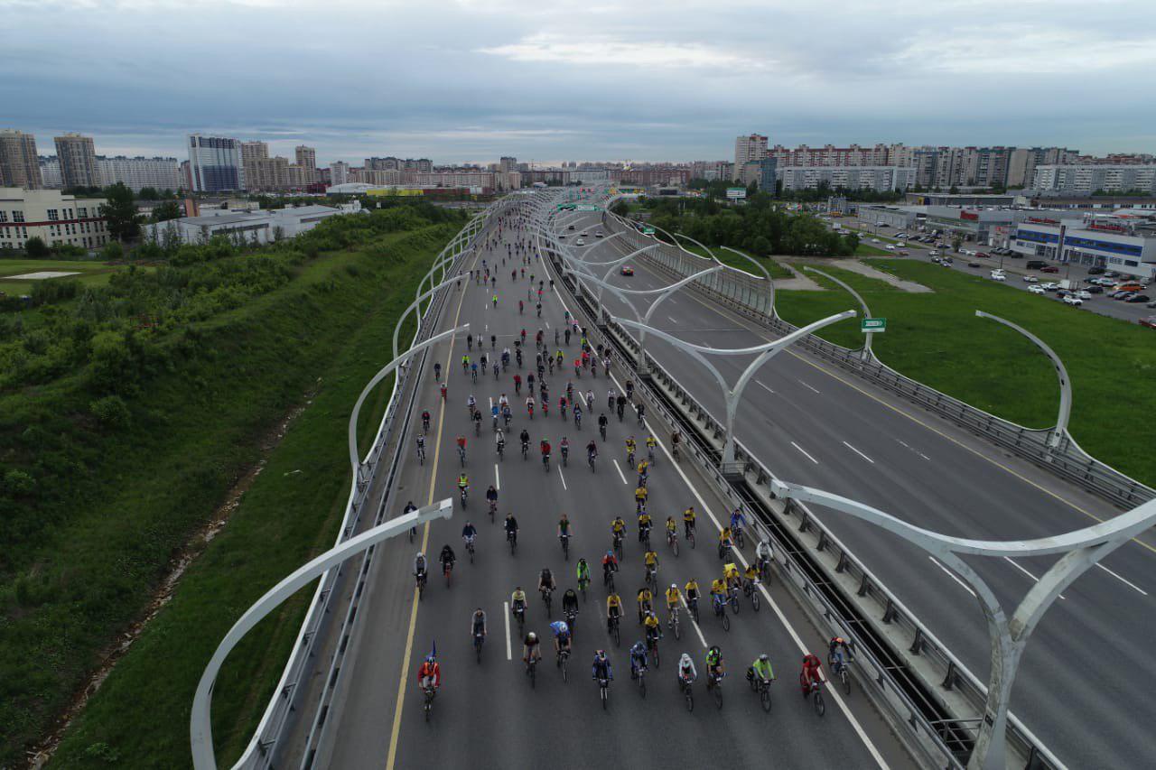На ЗСД финишировал первый велосипедист (Иллюстрация 1 из 2) (Фото: Фото пресс-службы «Газпром нефти»)