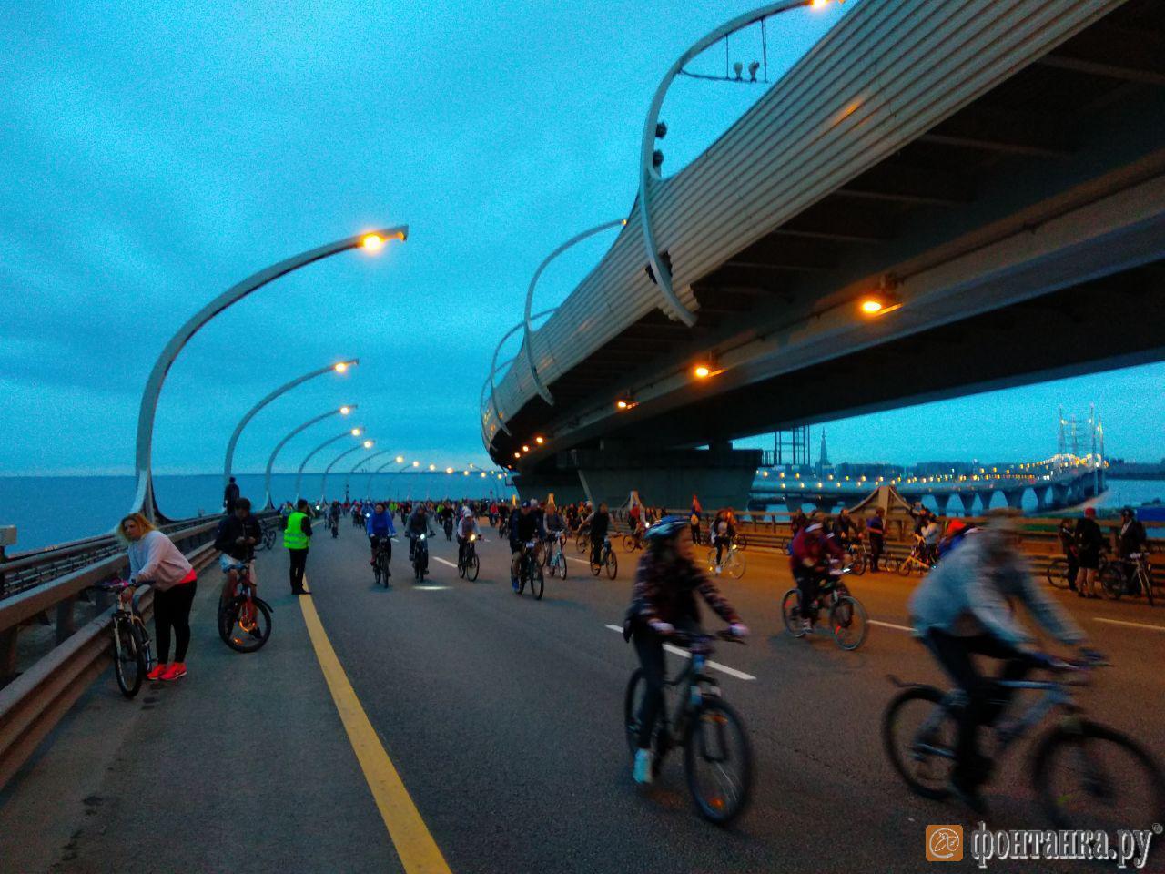 На ЗСД финишировал первый велосипедист (Иллюстрация 2 из 2) (Фото: Илья Трусов/