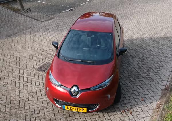 Renault Zoe. Кадр из видео в YouTube