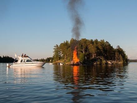 Выходные в Финляндии 22–23 июня:  Иванов день, экстрим и Песчаный замок